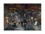 Bal du 14 juillet Giclee Print by Théophile Alexandre Steinlen