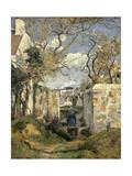Paysage de Pontoise Reproduction procédé giclée par Camille Pissarro