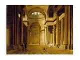 Vue intérieure du Panthéon Giclee Print by Etienne Bouhot