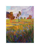 Colors of Brenham (right) Giclee Print by Erin Hanson