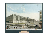 La colonnade du Louvre Giclee Print by Angelo Garbizza