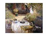 Le Déjeuner Giclee Print by Claude Monet