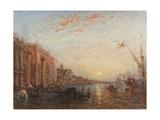Inondation à Venise Giclee Print by Felix Ziem