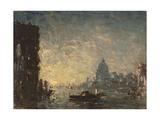 Venise coucher de soleil Giclee Print by Félix Ziem