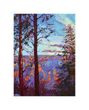 The North Rim III Giclee Print by Erin Hanson