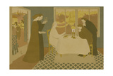 Les pèlerins d'Emmaüs Giclee Print by Maurice Denis