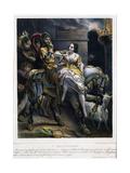 Notre-Dame de Paris: l'enlèvement Giclee Print by Nicolas Maurin