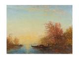 Fusine, environs de Venise Giclee Print by Felix Ziem