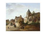 Vue de l'église Saint-Germain de Charonne Giclee Print by Etienne Bouhot