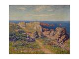Beau temps à Pern, île d'Ouessant Giclee Print by Henry Moret