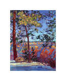The North Rim II Giclee Print by Erin Hanson