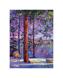 The North Rim I Giclee Print by Erin Hanson