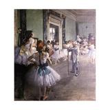 La Classe de danse Giclee Print by Edgar Degas