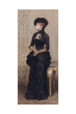 Femme aux gants dite la parisienne Giclee Print by Charles Giron