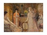 Un mardi, soirée chez Madeleine Lemaire, vers 1910 Giclee Print by Henri Gervex