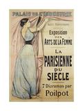 Palais de L'Industrie, Exposition des Arts de la Femme, La Parisienne du Siècle Giclee Print by Jean-Louis Forain
