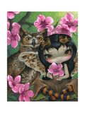 Owlyn in the Springtime Photographic Print by Jasmine Becket-Griffith