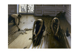 Raboteurs de parquets Giclee Print by Gustave Caillebotte