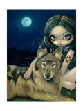 Wolf Moon Photographic Print by Jasmine Becket-Griffith