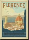 Florence, Italy Impressão em tela esticada por  Anderson Design Group