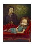 Alice and Lewis Prints by Jasmine Becket-Griffith