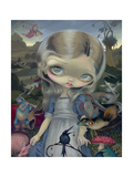 Alice in a Bosch Wonderland Photographic Print by Jasmine Becket-Griffith
