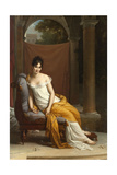 Portrait de Juliette Récamier Giclee Print by Francois Gerard