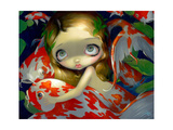 Amongst the Koi Photographic Print by Jasmine Becket-Griffith