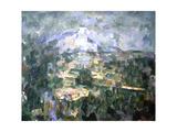La montagne Sainte-Victoire Giclee Print by Paul Cézanne