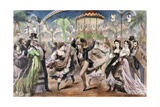 Le bal Mabille, 1867 Giclee Print