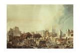 Vue des ruines de la foire Saint-Germain Giclee Print by Pierre-Antoine Demachy