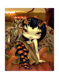 Owlyn in Autumn Photographic Print by Jasmine Becket-Griffith