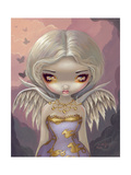 Angel in Lilac Prints by Jasmine Becket-Griffith