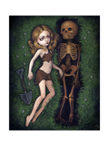 Shallow Grave Photographic Print by Jasmine Becket-Griffith