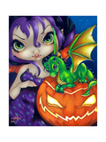 Darling Dragonling II Photographic Print by Jasmine Becket-Griffith