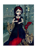 Wolves of Venice Photographic Print by Jasmine Becket-Griffith