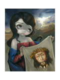 Veronicas Veil Photographic Print by Jasmine Becket-Griffith