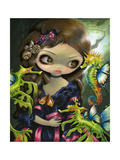 Poissons Volants L Hippocampe Photographic Print by Jasmine Becket-Griffith