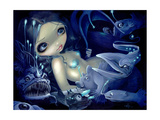 In the Abyss Papier Photo par Jasmine Becket-Griffith