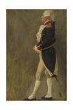 La Fayette, esquisse pour la Voûte d'acier, Hôtel de Ville de Paris Giclee Print by Jean-Paul Laurens