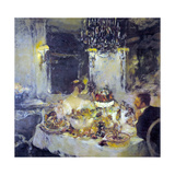 Le champagne Giclee Print by Gaston La Touche