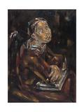 Portrait de femme aux bras croisés Giclee Print by Marie Blanchard