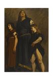 Femme mérovingienne, esquisse pour le Panthéon Giclee Print by Jean-Paul Laurens