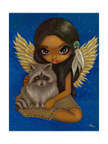 Brother Raccoon Photographic Print by Jasmine Becket-Griffith