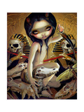 Priestess of Nyarlathotep Photographic Print by Jasmine Becket-Griffith