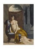 Madame Récamier (1777-1849), femme de lettres française, en robe d'intérieur Giclee Print by Francois Gerard