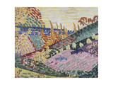 Paysage aux vaches Giclee Print by Robert Delaunay