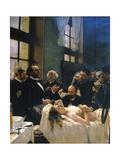 Avant l'opération, ou le docteur Péan enseignant à l'hôpital Saint-Louis Giclee Print by Henri Gervex