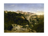Voltera, le Municipe Giclee Print by Jean Baptiste Camille Corot
