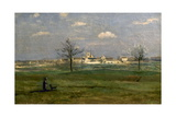 Rosny (Yvelines), Village au printemps Giclee Print by Jean-Baptiste-Camille Corot